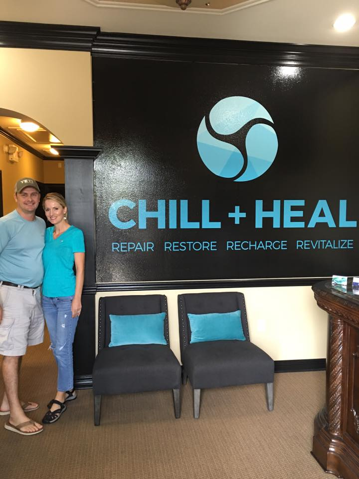Shreveport Cryotherapy Spa - Chill and Heal - Whole Body Cryotherapy