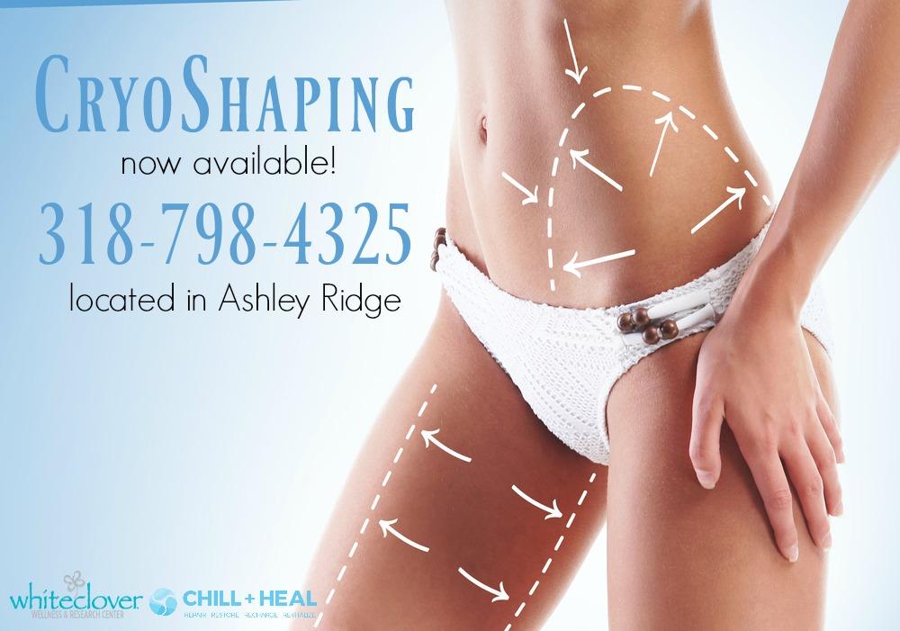 Eliminate Fat with CryoShaping in Shreveport, La